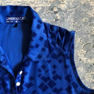 Nike Sleeveless Golf Shirt